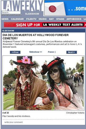 LA Weeky Dia de los Muertos
