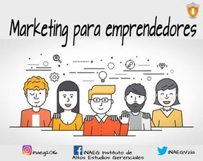 Curso de Marketing para Emprendedores - INAEG