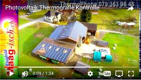 Photovoltaik Kontrolle mit Drohne und Wärmebildkamera Maag-isch March Höfe See Gaster Glarus St. Gallen Schwyz Reichenburg Tuggen Buttikon Schübelbach Siebnen Galgenen Altendorf Lachen Pfäffikon