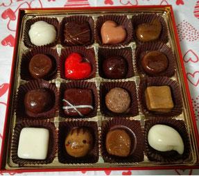 飴細工(チョコレート バレンタイン)