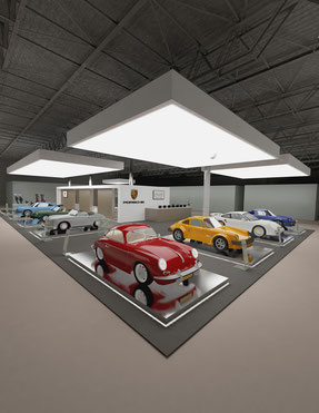stand Porsche_ concorso Salone auto moro d'epoca ,Padova