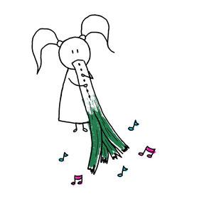 Beatrice Winkel - Trixilie's leek-flute