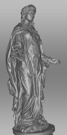 Virgen, scan para ampliación