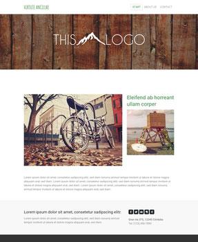 Jimdo Design-Vorlage Cairo