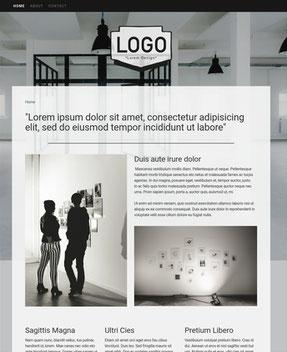Jimdo Design-Vorlage Melbourne