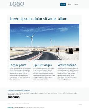 Jimdo Design-Vorlage Malaga
