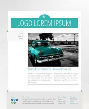 Jimdo Design-Vorlage Havana
