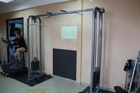 Тренажер силовой Перекрестная тяга (блочный)