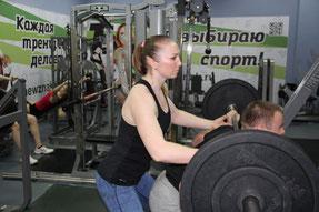 Новоселова Ольга, мастер спорта по пауэрлифтингу