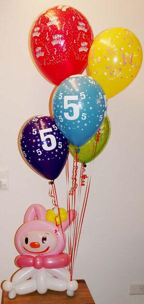 Mr.balloni ch,Geburtstag, Mädchen, Ballongeschenk
