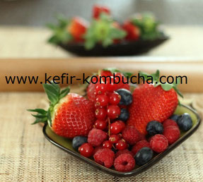Kefir de fruits seconde fermentation