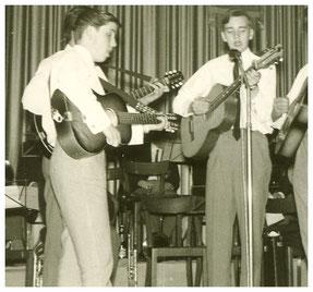 1966 Boygroup des Musikzug Wallau