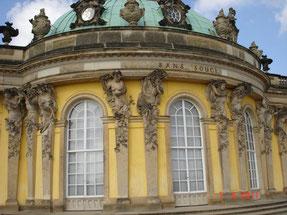 Potsdam:château de Sans Souci