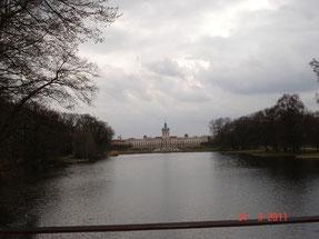 étang dans le parc de Charlottenburg