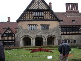 chateau de Cecilienhof à Potsdam