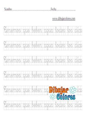 caligrafía cuadrículas con frases 01