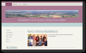 """zur Homepage """"Bürgerbündnis für ein tolerantes und weltoffenes Korbach"""""""