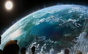 Planetenansicht aus dem CivBE Intro