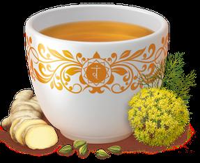 Yogi Tee, Nach dem Essen Tee, Digestiv-Tee Ayurvedische Teemischung, Biotee, lecker, wärmend & Verdauung belebend  Quelle: www.yogitea.com