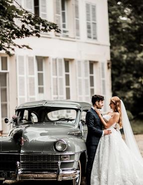 french wedding mariage château île de france chapiteau bambou