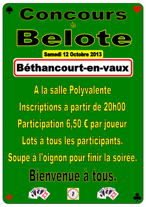 © Comité des Fêtes de Béthancourt-en-vaux