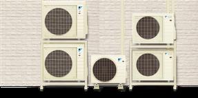 一般的なエアコンは部屋の数だけ室外機が必要。