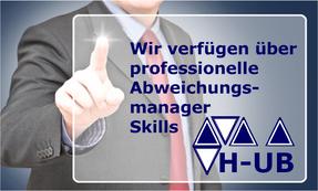 Hettwer UnternehmensBeratung GmbH - Spezialisierte Beratung im Finanzdienstleistungssektor - Projektexpertise bei Banken & Versicherungen – Rollen Skill Abweichungsmanager - www.hettwer-beratung.de