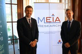 Generalkonsul Moeller und Dr. Rieger