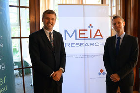 Consul General Moeller and Dr. Rieger