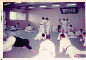 昭和49年頃のまだ真新しいJFE体育館柔道場