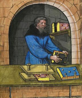 aus: Nürnberger Hausbuch, Landauer I, um 1514.