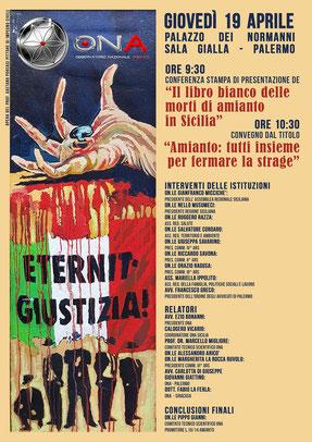 Conferenza Amianto Sicilia