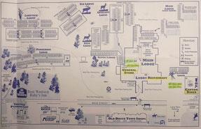 Übersichts Karte Hotel & Umgebung