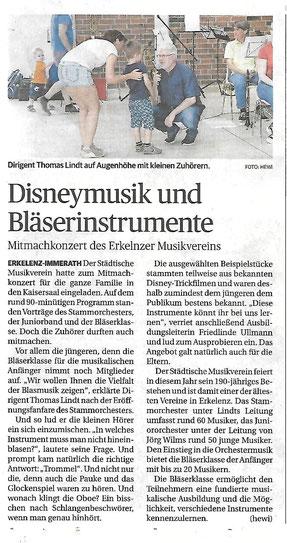Quelle: Aachener Zeitung 13.07.2019
