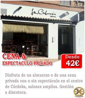 restaurantes para despedidas en Córdoba