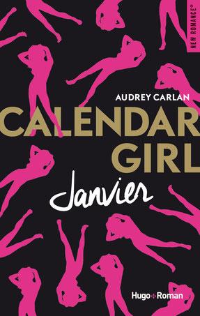Couverture Calendar girl T1 Janvier d'Audrey Carlan