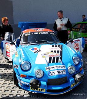 Renault Alpine A110-1800-16V-Gruppe 5 Werner Fahnert und Bettina Forster