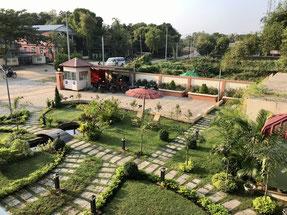 Garten der Pegu Loge