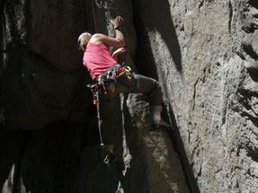 Rock climbing in Squamish