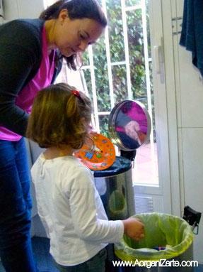 tareas niños - www.AorganiZarte.com