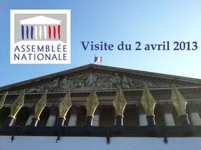Visite de l'Assemblée nationale  02-04-2013
