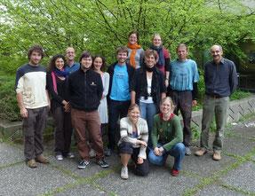 Gruppenbild aus dem Jahr 2013