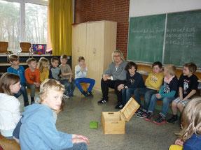 Sozialtraining mit Frau Johst 2013