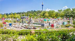 Das Legoland im bayrischen Günzburg. Foto: Legoland/PR