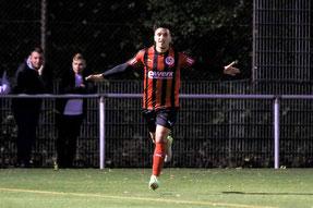 Youssef Sbou markierte insgesamt drei Treffer. Foto: Maurice Herzog