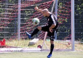 Vorbereiter Hamza Mokeddem machte ein starkes Spiel. Foto: Mathias Merk