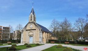 Église Saint-Denis à Vélizy-Villacoublay en 2019.