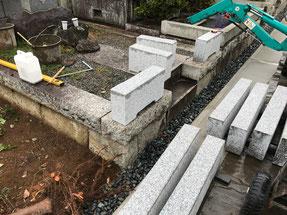深谷石材店:お墓の改修リフォーム