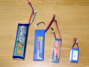 Batteries LiPo