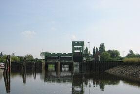 Tidesperrwerk Bremerhaven